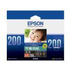 エプソン純正用紙 写真用紙 光沢 L判 200枚 KL200PSKR  受注発注品 ネコポス非対応