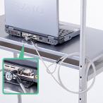ショッピングノートパソコン ノートパソコンセキュリティキット コネクタネジ取付 盗難防止 SL-43 サンワサプライ ネコポス非対応