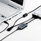 IDE/SATA-USB変換ケーブル(0.65m) USB-CVIDE2N サンワサプライ ネコポス非対応 延長保証