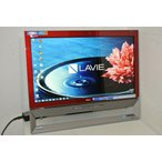 [美品][送料無料]LAVIE DA370/BAR PC-DA370BAR Celeron Dual-Core 3205U(Broadwell)1.5GHz/4GB/1TB/DVDマルチ/FullHD/地デジ/Win8.1/激安
