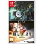 【新品】Final Fantasy VII & VIII Remastered ファイナルファンタジー 7+8 Twin Pack Nintendo Switch 日本語対応 輸入版