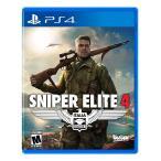 【新品】Sniper Elite 4 スナイパーエリート4 PS4 輸入:北米版