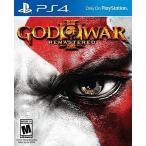 【新品】God of War 3 Remastered ゴッドオブウォー リマスター PS4 輸入:北米版