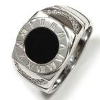 メンズリング 印台リング シルバーリング メンズ アクセサリー 指輪 シルバー925 sv925 オニキス カジュアル