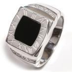 オニキス メンズリング 印台リング シルバーリング メンズ 指輪 シルバー925 sv925 レディース ジュエリー アクセ アクセサリー プレゼント