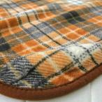 ショッピングひざ掛け 毛布 ひざ掛け70x100cm チェック柄 ニューマイヤー 216-505 (ブラウン)