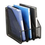 ボックスファイル a4タテ ファイルスタンド スチール 書類入れ 仕切りラック 3段 ブックスタンド スリム 卓上ラック 書類立て 書類収納