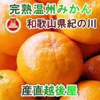 フルーツ みかん 完熟みかん 和歌山県 紀の川 林農園 樹上完熟 温州みかん 秀品 5kg S・M・Lサイズいずれ 贈答用ミカン 送料無料