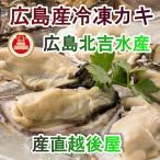 魚介類 水産加工品 貝類 カキ 広島県 呉市 広島カキの老舗 北吉水産の冷凍カキ Lサイズ 500g 2パック かき 送料無料