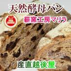 パン 天然酵母パン 送料無料 天然酵母パン マリラ 薪窯で焼いた天然酵母パン パンドカンパーニュ全粒粉100% 1個 エメンタールチーズ入