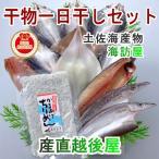 魚 海産物 干物 詰合せ 高知県高知市場 土佐海産物 海訪屋 厳選1日干セット 送料無料 冷凍便でお届け