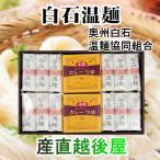 日本一短い そーめん 白石温麺 宮城県白石市 松田製粉 白石温麺 牛たんカレーセット 6束 送料無料