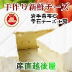 チーズ 乳製品 手作りチーズ 岩手県雫石市 雫石チーズ工房 はなのチーズ 駒草 (カマンベールチーズ) 120g 新鮮 ギフト 贈り物 送料無料