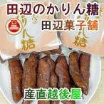 お菓子 かりん糖 新潟産 新潟県加茂市 田辺菓子舗 かりん糖 たなべのかりん糖 10本入 10個 送料無料