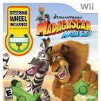 プレイステーション3 ps3 レース ゲーム Madagascar Kartz with Wheel - Nintendo Wii (Bundle with Wheel) 正規輸入品