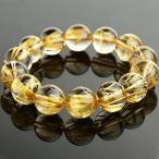 手鍊 - ブレスレット ペア レディースジュエリー Golden Rutilated Quartz Bracelet 16mm Round Beads 84.8g #2294 正規輸入品