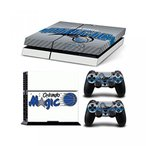 プレイステーション4 ボードゲーム ゲーム Sony PlayStation 4 Skin Decal Sticker Set - NBA Orlando Magic (1 Console Sticker + 2 Controller Stickers)