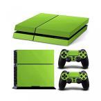プレイステーション4 ボードゲーム ゲーム Gam3Gear Vinyl Sticker Pattern Decals Skin for PS4 Console & Controller- Leather Green 正規輸入品