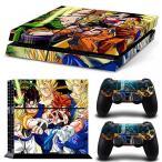 プレイステーション4 ボードゲーム ゲーム GoldenDeal PS4 Console and DualShock 4 Controller Skin Set - Anime Super Hero - PlayStation 4 Vinyl