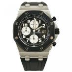 オーディマピゲ メンズウォッチ 腕時計 Audemars Piguet Royal Oak Offshore Rubber Clad automatic-self-wind black mens Watch (Certified Pre-owned)