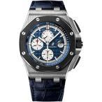 オーディマピゲ メンズウォッチ 腕時計 Audemars Piguet AP Royal Oak Offshore Chronograph 44mm Platinum Watch 26401PO.OO.A018CR.01 正規輸入品