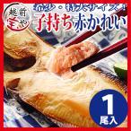 鰈魚 - 干物 越前産 子持ち特大カレイ 1枚入り 真空パック 一夜干し ((冷凍))