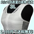 和装ブラジャー 高級夏用メッシュ 3L 日本製 防臭抗菌加工 フロントファスナー 補整 浴衣用 ゆかたブラジャー