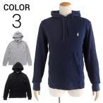 ショッピングラルフ ラルフローレン サーマルTシャツ SML POLO RALPH LAUREN waffle cotton hoodie 3color