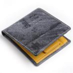 ホワイトハウスコックス WHC ホリデーライン 二つ折り小銭付財布 リージェントブライドルレザーツートンカラー財布 ブラックxイエロー