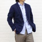 TOMORROW LAND(トゥモローランド) Blue Work コットンリヨセル 長袖 シャーリング ライン入り ジャケット・51-03-31-03012-0171301