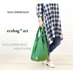 BLEU COMME BLEU(ブルーコムブルー) オリジナルエコバッグ・ecobag【メール便可能3】