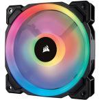 PC冷却ファン コルセア CO-9050071-WW [ケースファン LL120 RGB 120mm Dual Light Loop RGB LED PWM ファン - シングルパック]