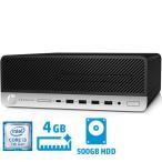 デスクトップPC HP Compaq 3XH99PC#ABJ [600G3 SF (i3-7100 4GB 500GB W10P)]