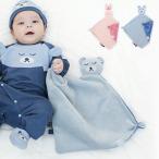 ショッピングブランケット ブランケット 赤ちゃん ベビー おくるみ 出産祝い ギフト ハンスパンプキン アニマルフェイスミニブランケット/HANS-FACEBLANKET