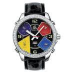 ジェイコブ   JACOB&CO FIVE TIME ZONE 47mm JC-11D 腕時計  ファイブタイムゾーン ダイヤモンドベゼル