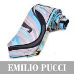 エミリオプッチ ネクタイ EMILIO PUCCI ブルー PA022 2 シルク
