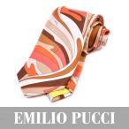 EMILIO PUCCI エミリオプッチ ネクタイ オレンジ PA022 3
