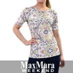マックスマーラ ウィークエンド 柄物Tシャツ MAXMARA WEEKEND UMILE 59410581 1 送料無料 SALE