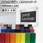 ステッカー用カッティングシート 中期用シート(60cm×1m切売)NCX-FC
