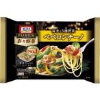 日本製粉『オーマイプレミアム 彩々野菜 海老と5種野菜ペペロンチーノ』