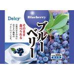 【送料無料】デルシー ブルーベリー 袋200g×12袋(1ケース) 【冷凍】