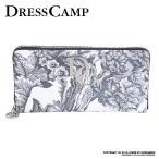 DRESS CAMP 財布 長財布 メンズ ウォレット 花柄 バナナツリー ドレスキャンプ 花柄 ボタニカル リーフ 合皮 JOKER