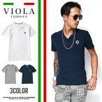 VIOLA rumore ヴィオラ tシャツ メンズ Vネック 半袖 VネックTシャツ 半袖Tシャツ ファッション オラオラ系 JOKER ジョーカー