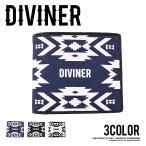 財布 メンズ 二つ折り ウォレット 二つ折り財布 サイフ オルテガ柄 ネイティブ柄 DIVINER ディバイナー