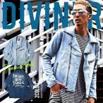 ライダースジャケット メンズ ダブル スウェットデニム ダブルライダース 春ジャケット DIVINER ディバイナー
