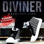スニーカー メンズ ミドルカットスニーカー ハイカットスニーカー 靴 オリジナル ストリート系 DIVINER ディバイナー JOKER ジョーカー