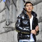 ジャケット メンズ アウター 中綿ジャケット 冬 冬服 黒 ブラック 白 ゴールド カジュアル ブランド ブルゾン 中綿 派手 光沢 大きいサイズ LL XL オシャレ