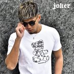 tシャツ メンズ 半袖 ベアー クマ ロゴプリント プリントtシャツ プリント ブランド ラグジュアリー リッチ 高級感 白 ホワイト 黒 ブラック