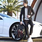 セットアップ メンズ スーツ テーラード イタリアンカラージャケット カジュアルスーツ アンクル パンツ XL ジャケット ストレッチ