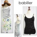 【babiller】キラキラスパンコールキャミソール/レディースドレストップス(レディースキャミソールトップス、婦人デザイントップス)act anca/アクトアンカ